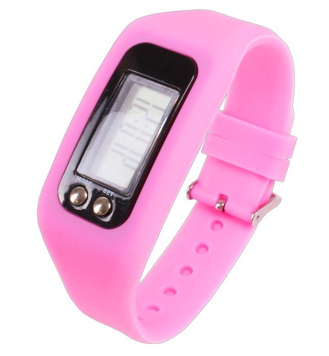 Pink Wrist Activity Tracker Fitstyle