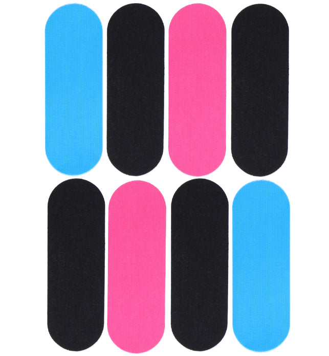 8 Dunlop Kinesiology K-Tape Strips for Knees & Wrists