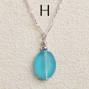 Seaglass Quick Drop Necklace