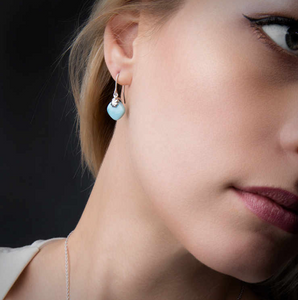 Abril Marahlago Larimar Earrings