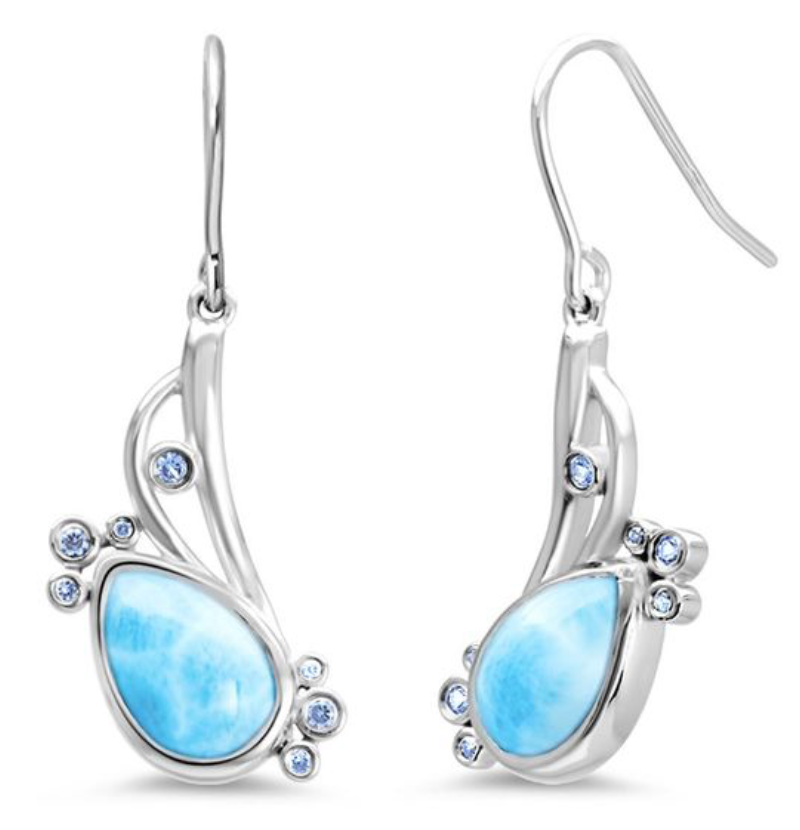 MarahLago Whisper Larimar Earrings