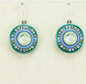 Firefly Circular earrings
