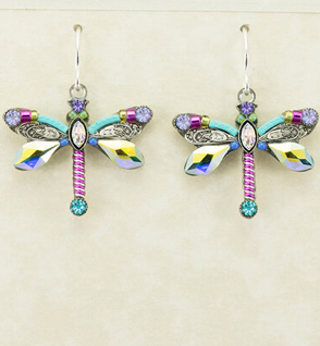 Firefly Dragonfly  Earrings