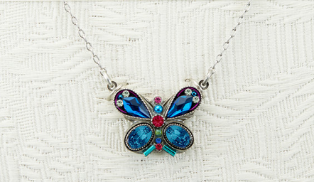 Firefly Butterfly Necklace