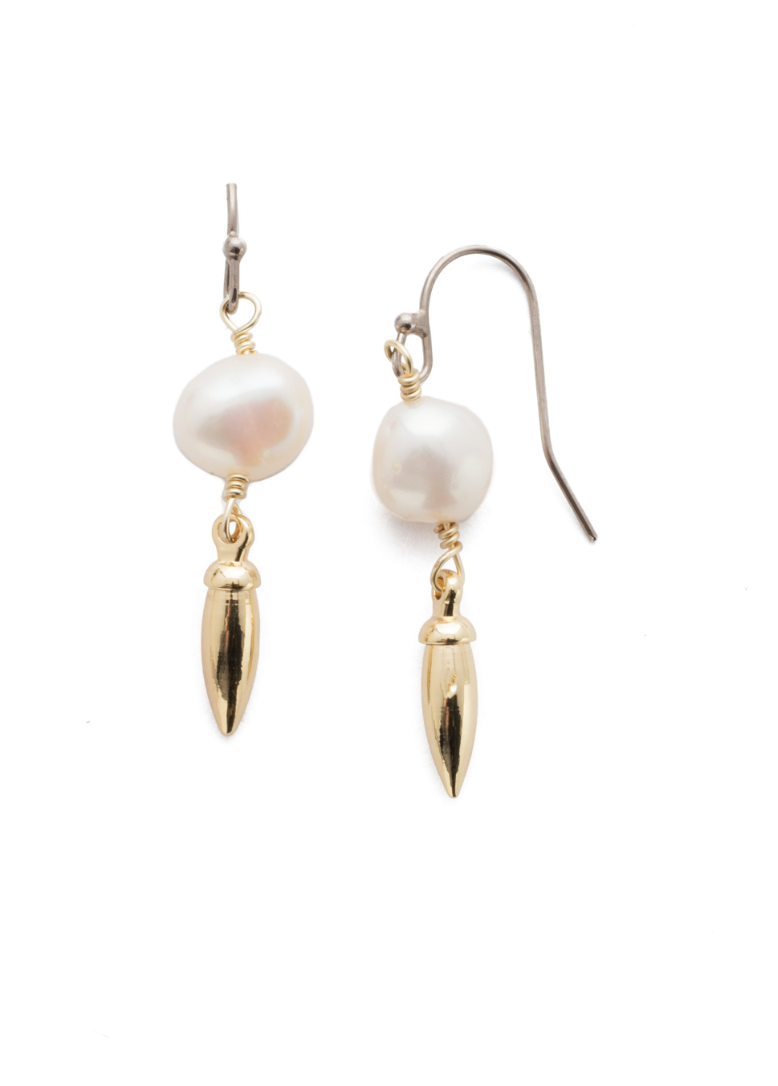 Sorrelli Modern Pearl Earrings