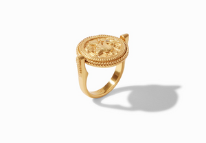Coin Revolving Ring