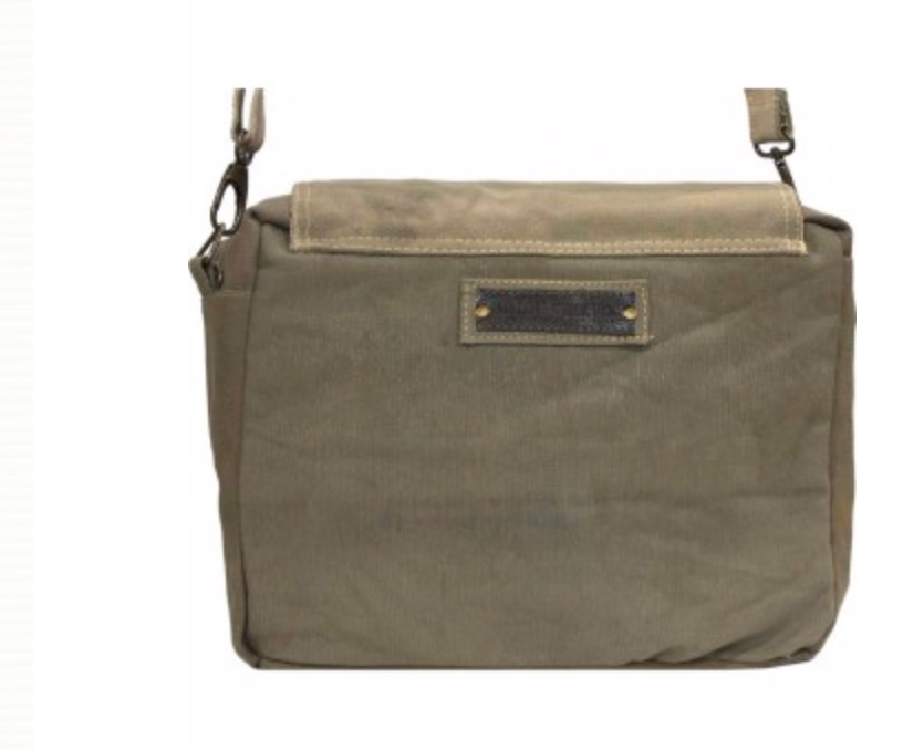 VINTAGE MILITARY TENT CROSSBODY, SEVERAL STYLES AVAILABLE