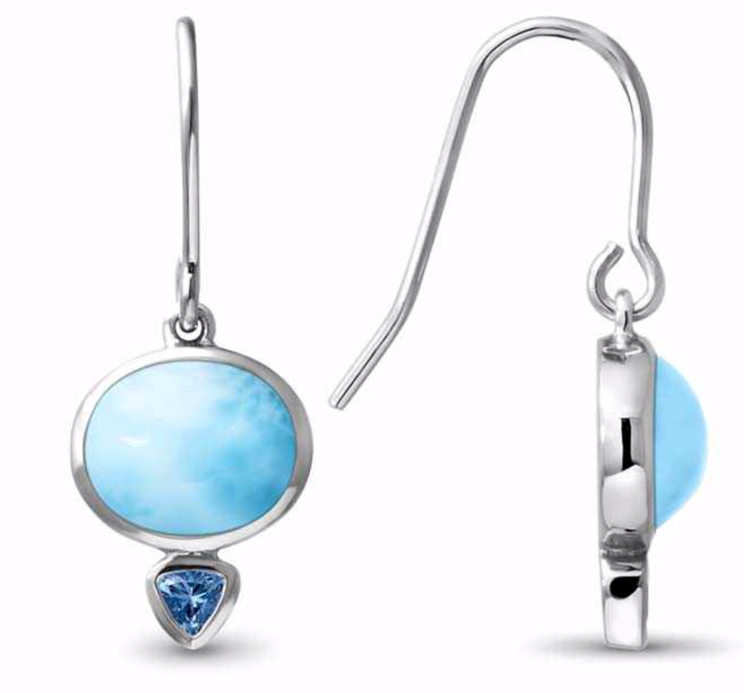 Marahlago Naples  Larimar Earrings