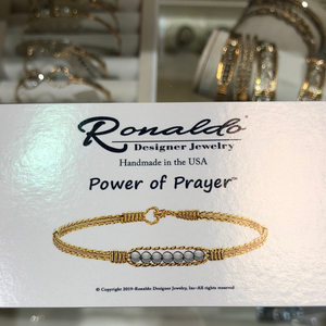 Power Of Prayer  Ronaldo Bracelet