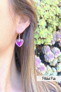 Leightworks Crystal Heart Earrings
