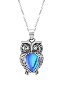 LeightWorks Owl  Crystal Pendant
