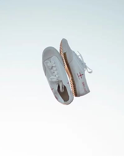Dojō White – The Ground Movement Shoes