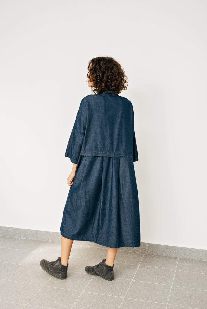 Yuan denim dress