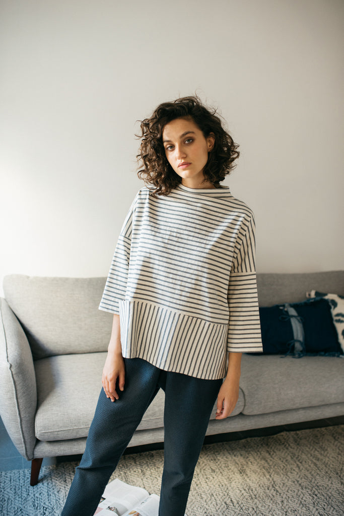 Cozy stripes shirt