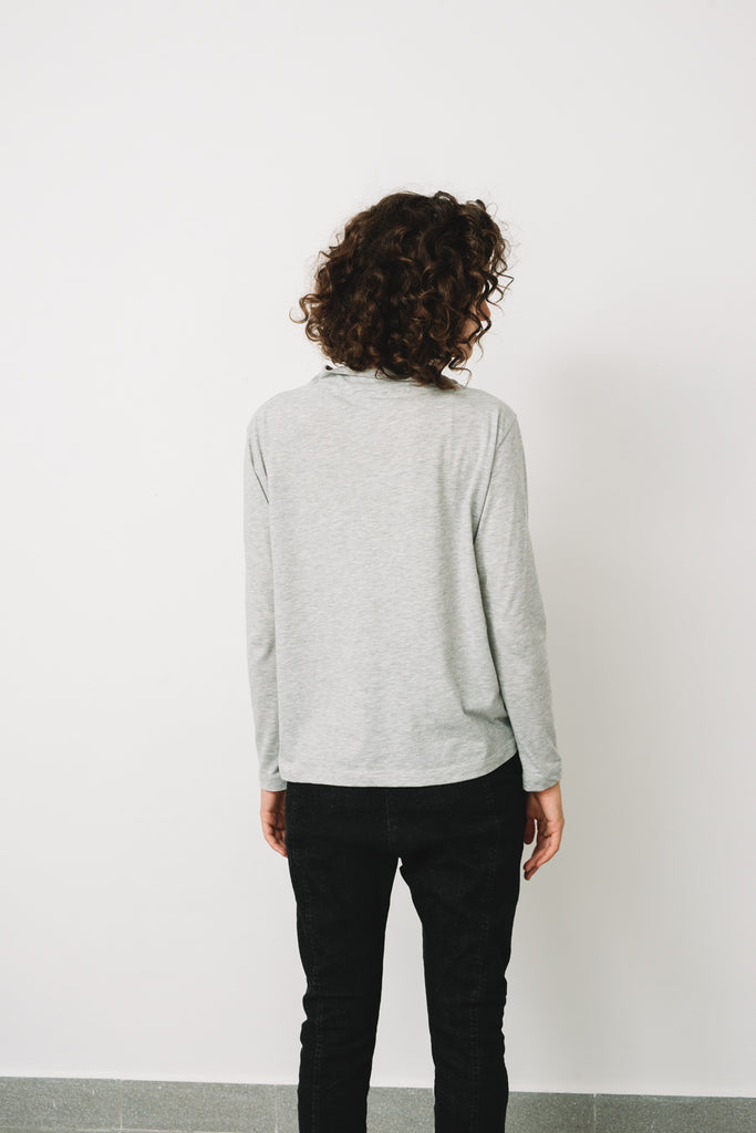 London golf shirt- Light Grey