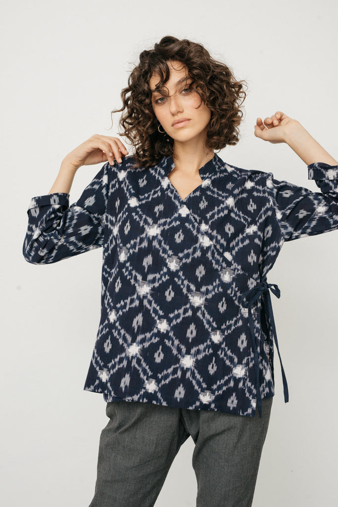 Monk ikat shirt