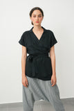 Samurai summer top- Black