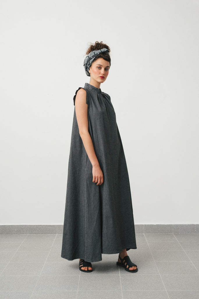Hanoi dress- Grey