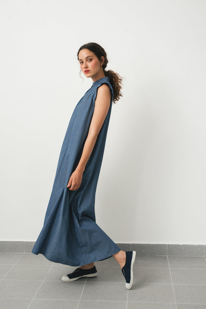 Hanoi dress- Blue