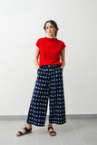 Ikat pants- Blue