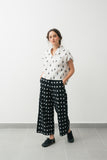 Ikat pants- Black