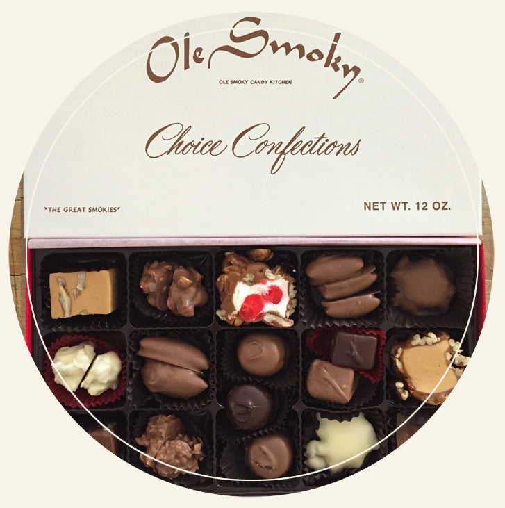 ole smoky candy kitchen chocolate choice confections