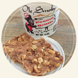ole smoky candy kitchen peanut brittle