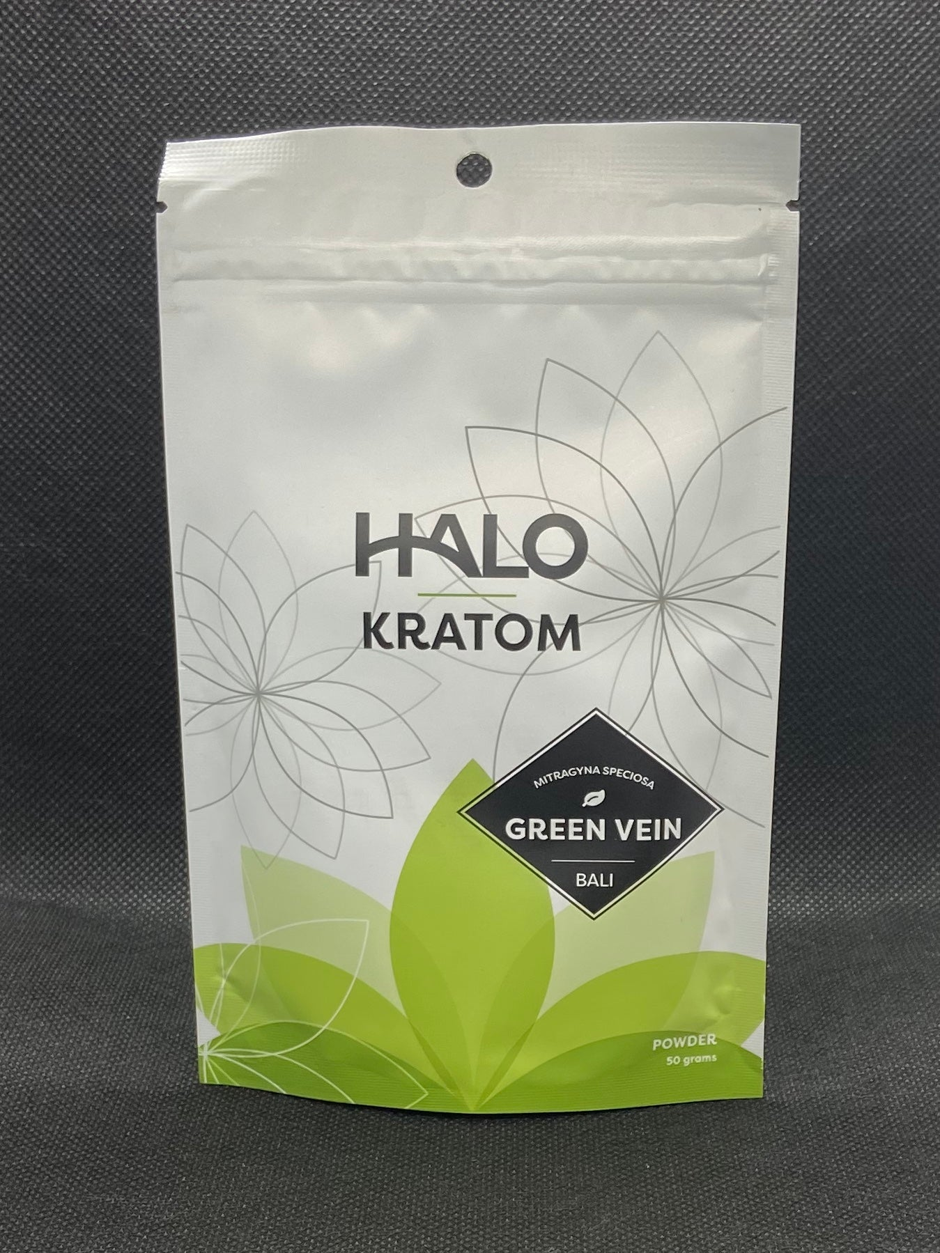 Halo Green Vein Kratom Powder