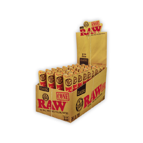 Raw- All Natural Cones