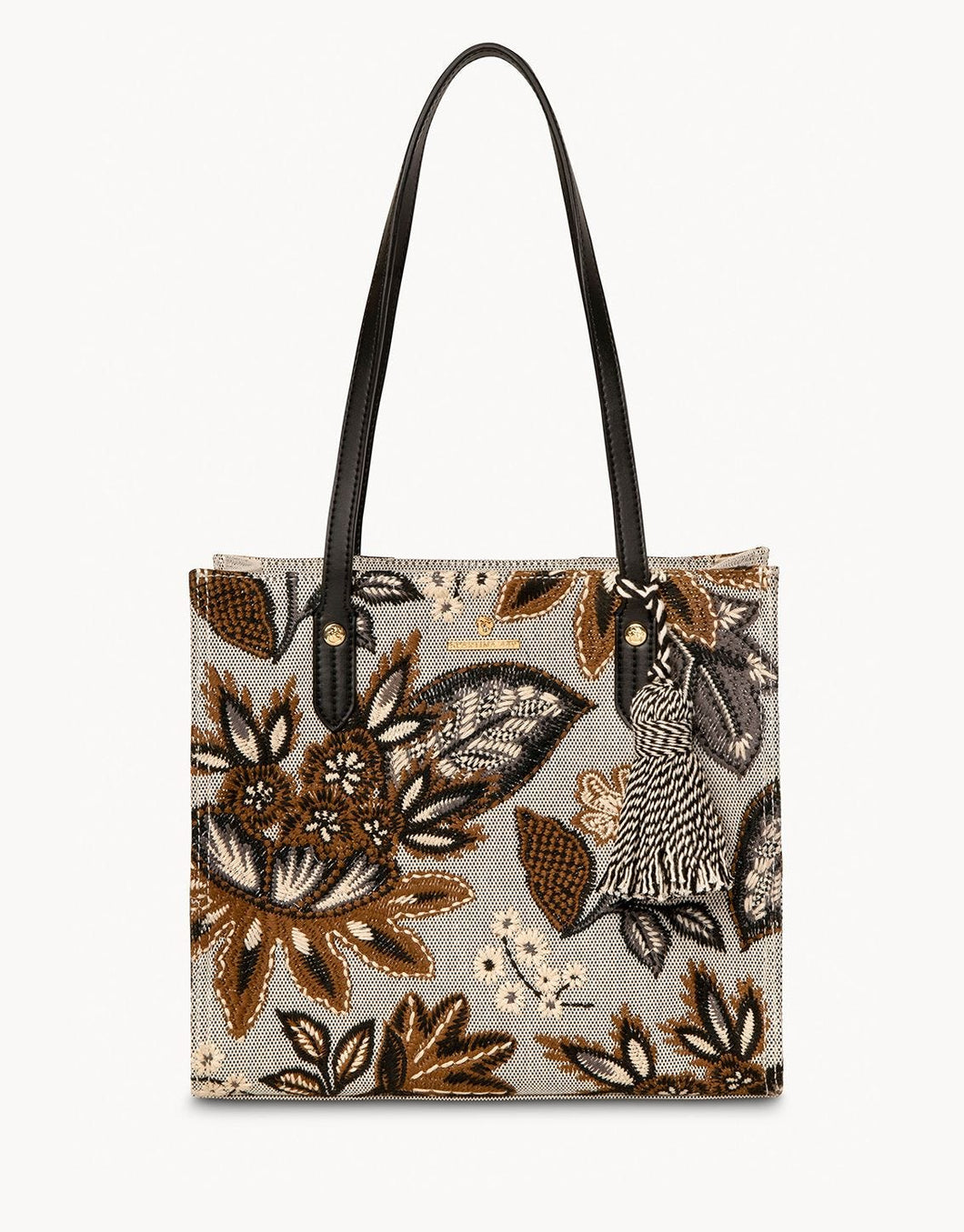 West Bluff Floral Box Tote
