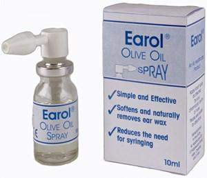 Earol Olive Oil Spray 10ml