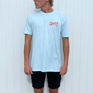 Casper's Old School Cool T-Shirt Sky Blue