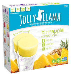 Jolly Llama® Sorbet Pops - Pineapple