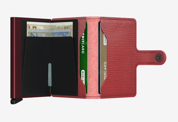 Miniwallet Rango Red Bordeaux
