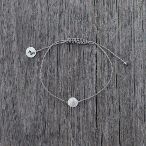 Pebble Bracelet - Grey
