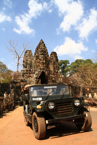 Angkor Archeological Park by Jeep Jeep Tours Cambodia Jeep