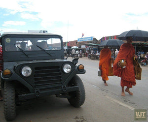 Angkor Archeological Park Jeep Tours Cambodia Jeep
