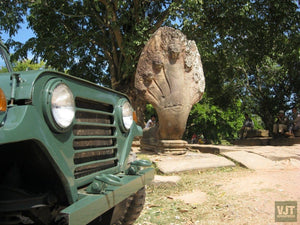 Angkor Wat & Floating Village Kampong Pluck Jeep Tours Cambodia Jeep