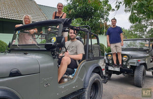 Cu Chi Tunnels On The Jeep Jeep Tours VJT Adventures