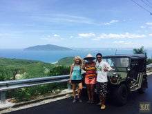 Load image into Gallery viewer, Danang / Hoian – Hue Via The Coastal Route Jeep Tours VJT Adventures