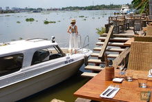 Load image into Gallery viewer, Dinning By Saigon Riverside Jeep Tours VJT Adventures