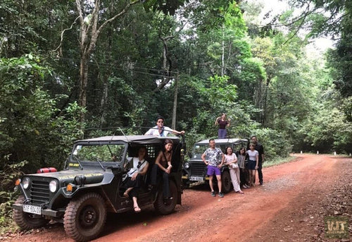 Exploring Phu Quoc's Nature Beauty Jeep Tours Phu Quoc Jeep Tour