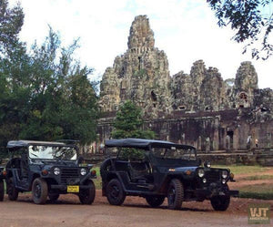 From Cambodia To Vietnam On The Jeep Jeep Tours VJT Adventures