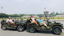 Load image into Gallery viewer, Fun Drive Around Hanoi Jeep Tours VJT Adventures