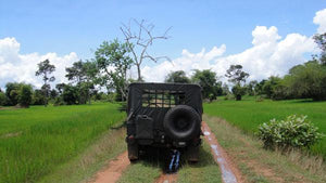 Half Day Tour To Kampong Kleang Jeep Tours Cambodia Jeep