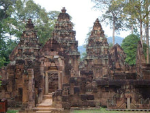 Load image into Gallery viewer, Kbal Spean– Banteay Srey– Banteay Samre Jeep Tours Cambodia Jeep