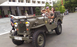 Saigon City Tour & Cu Chi Tunnels Jeep Tours VJT Adventures