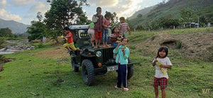 Yangbay Waterfall & Ethnic Village Jeep Tours Jeep it up!