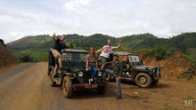 Load image into Gallery viewer, Yangbay Waterfall & Ethnic Village Jeep Tours Jeep it up!