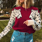 Tiger Sleeve Sweater